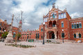 Hospital de la santa creu i de sant pau barcelona spain Royalty Free Stock Photography
