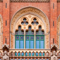 Hospital de la santa creu i de sant pau barcelona spain Royalty Free Stock Images
