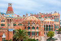 Hospital de la santa creu i de sant pau barcelona spain Royalty Free Stock Photo