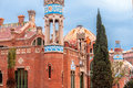 Hospital de la santa creu i sant pau barcelona spain Royalty Free Stock Photos