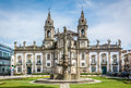 Hospital de São Marcos in Braga Portugal Royalty Free Stock Photo