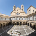 Hospital de Santiago Courtyard in Úbeda Cultural heritage of