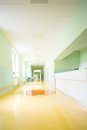 Hospital hallway Royalty Free Stock Photo