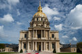 Hospital les invalides Paris Royalty Free Stock Photo