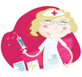 Hospital nurse Royalty Free Stock Image