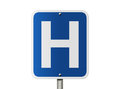 Hospital Sign Royalty Free Stock Photo