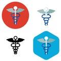 Hospital sign icon Royalty Free Stock Photo