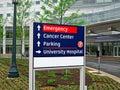 Hospital sign Royalty Free Stock Photo
