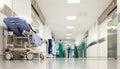 Nemocnice chirurgie koridor
