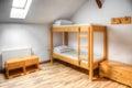 Hostel Room Royalty Free Stock Photo