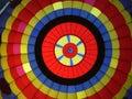 Hot air ballon Stock Images