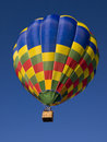 Hot air ballon. Royalty Free Stock Images