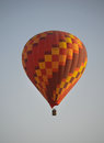 Hot air ballon in the sky Royalty Free Stock Photo