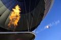 Hot air ballon trip in cappadocia, turkey Royalty Free Stock Photo