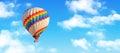 Hot-air balloon Royalty Free Stock Photo