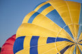 Hot air balloon detail of a Royalty Free Stock Images