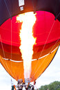 Hot air balloon detail of a Stock Images