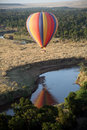 Hot Air Balloon (Kenya) Royalty Free Stock Photo