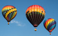 Hot Air Balloon Liftoff Royalty Free Stock Photo