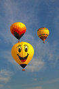 Hot air balloon in new jersey balloon festival Stock Photo