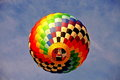Hot air balloon in new jersey balloon festival Royalty Free Stock Photo