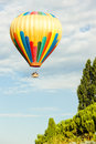 Hot air balloon provence france Stock Image