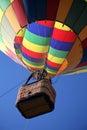 Hot Air Balloon Ride Closeup Royalty Free Stock Photo