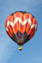 Hot air balloon in the sky Royalty Free Stock Photo
