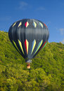 Hot Air Balloon Soaring High Royalty Free Stock Photos