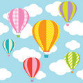 Hot Air Balloons Stock Images