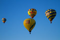 Hot air balloons at the albuquerque balloon festival Stock Image