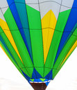 Hot air baloon balloons sometimes look like abstract color painting Stock Photography