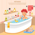 Hot Bath Poster