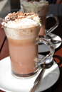 Hot chocolate Royalty Free Stock Photography
