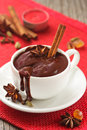 Hot chocolate. Royalty Free Stock Photos