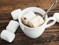 Hot Chocolate Cup with Marshmallows