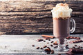 Hot chocolate drink Royalty Free Stock Photo
