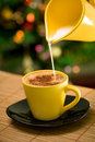 Hot coffe Royalty Free Stock Photos