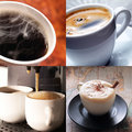 Hot coffee Stock Photos