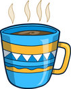 Hot Coffee Vector Illustration Royalty Free Stock Photos