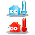Hot and cold house