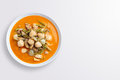 Hot curry with meat ball Royalty Free Stock Photo