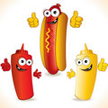 Hot-dog Stock Images