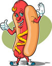 Hot Dog Guy Stock Photography