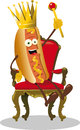 Hot Dog King Stock Images