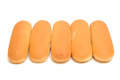 Hot dog rolls Royalty Free Stock Image