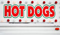 HOT DOGS Sign Royalty Free Stock Photos