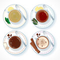 Hot drinks Stock Photos