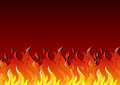 Hot fire illustration of a Stock Image