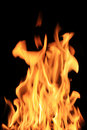 Hot flame Royalty Free Stock Images